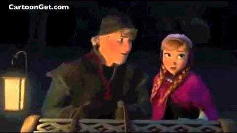 """Frozen """"Sleigh Ride Scene"""" Funny Video Clip (Original)"""