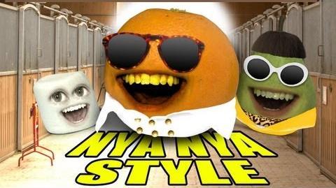 Annoying Orange - ORANGE NYA NYA STYLE (GANGNAM STYLE Spoof)