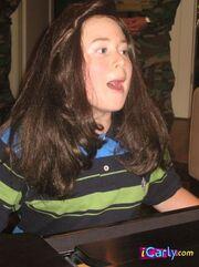 Nevel as a girl