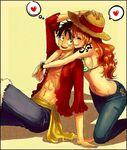Luffy e Nami 2