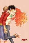 Luffy e Nami