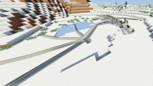 Stage 5 Ice Dragon Skeleton