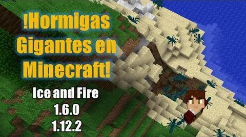!Hormigas Gigantes en Minecraft! Ice and Fire 1.6.0-1.12.2