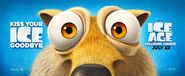 Ice Age Collision Course Scrat Poster