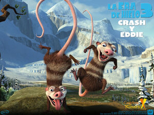 Wallpaper-la-era-de-hielo-3-crash-y-eddie