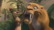 Buck checks Diego's teeth