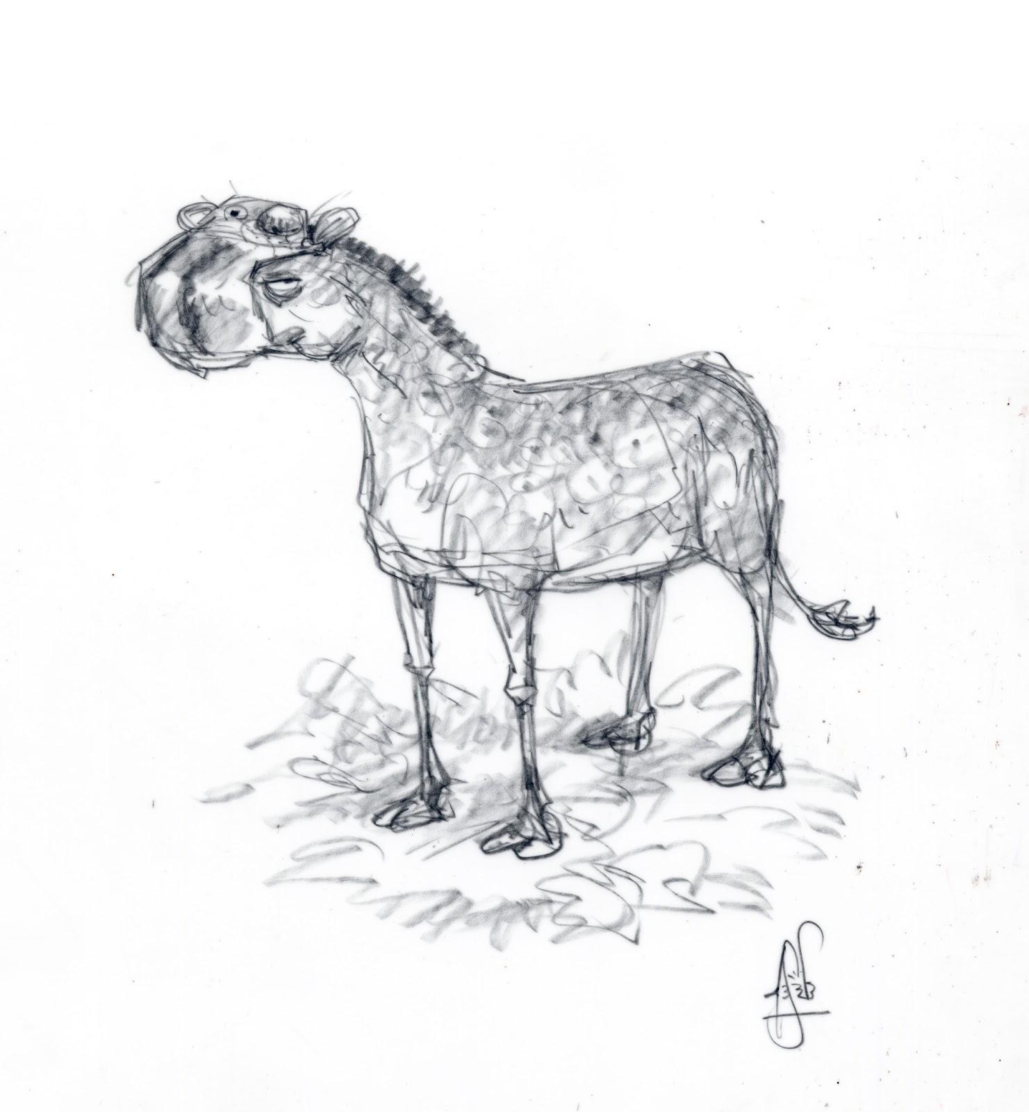 Image - Ice Age- Continental Drift Concept Art Eohippus that hyrax ...