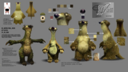 Uncle fungus concept art