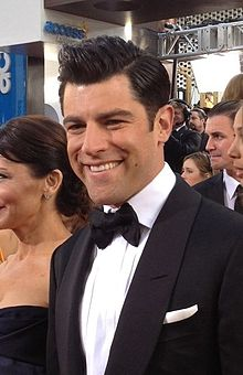 Max Greenfield at the 2013 Golden Globe Awards (cropped)