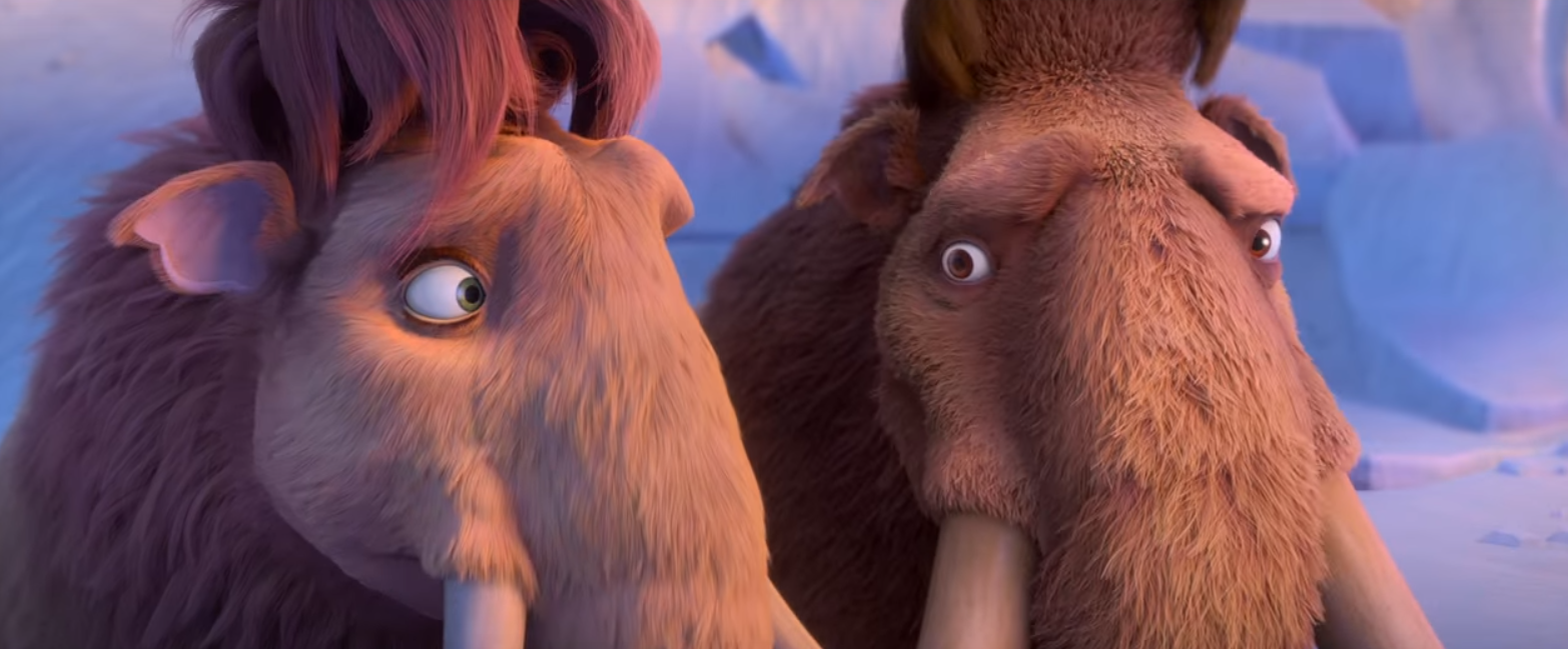 image - manny and ellie worried | ice age wiki | fandom powered