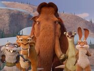 Ice Age- The Great Egg-Scapade Squint, Diego, Manny, Sid, Clint