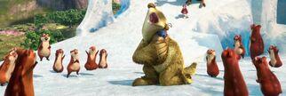 Sid hugging Hyrax
