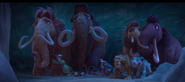 Ice Age Collision Course The Herd scared