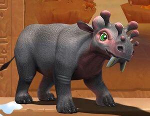 Uintatherium Ice Age Adventures