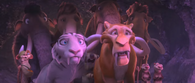 The Herd scared or surprised