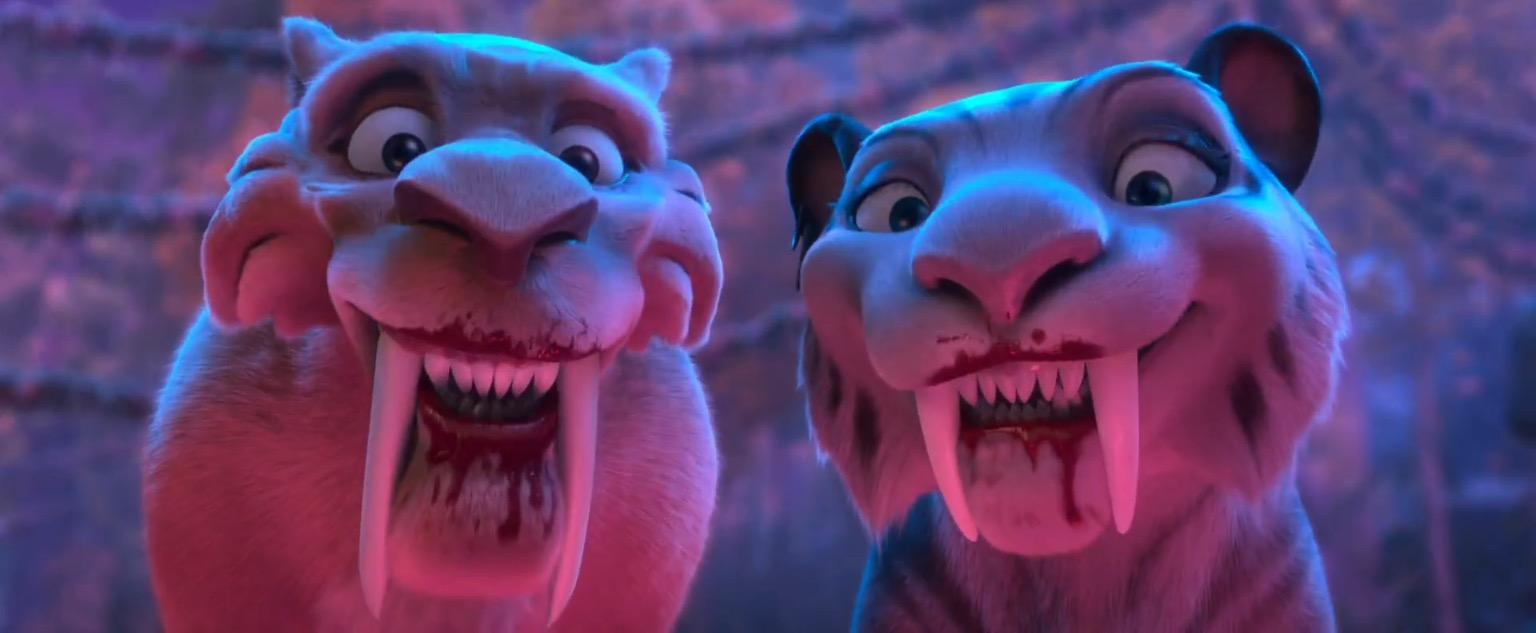 Image - Diego and Shira Hi Kids.jpeg | Ice Age Wiki ...