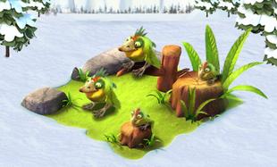 Ice age village bird
