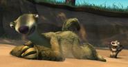 Sid plays Whack A Possum