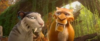 saber toothed tiger ice age wiki fandom