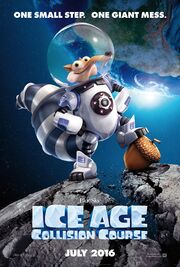 Ice Age Collision Course Poster