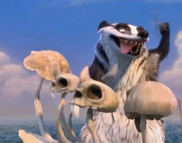 Image - IA4- Gupta Playing His Skull Drums.JPG | Ice Age ...Ice Age 4 Gupta Dailymotion