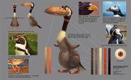 Dvingbird concept art
