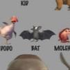 Bat concept art