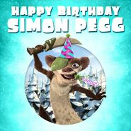 Simon pegg birthday