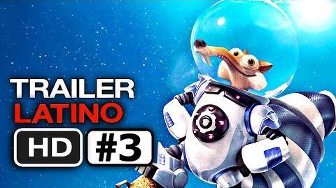 Trailer 3 en Español LATINO La Era de Hielo 5 Choque de Mundos (HD) Fox 2016