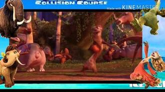 Final scene of Ice Age Collision Course (My Superstar)