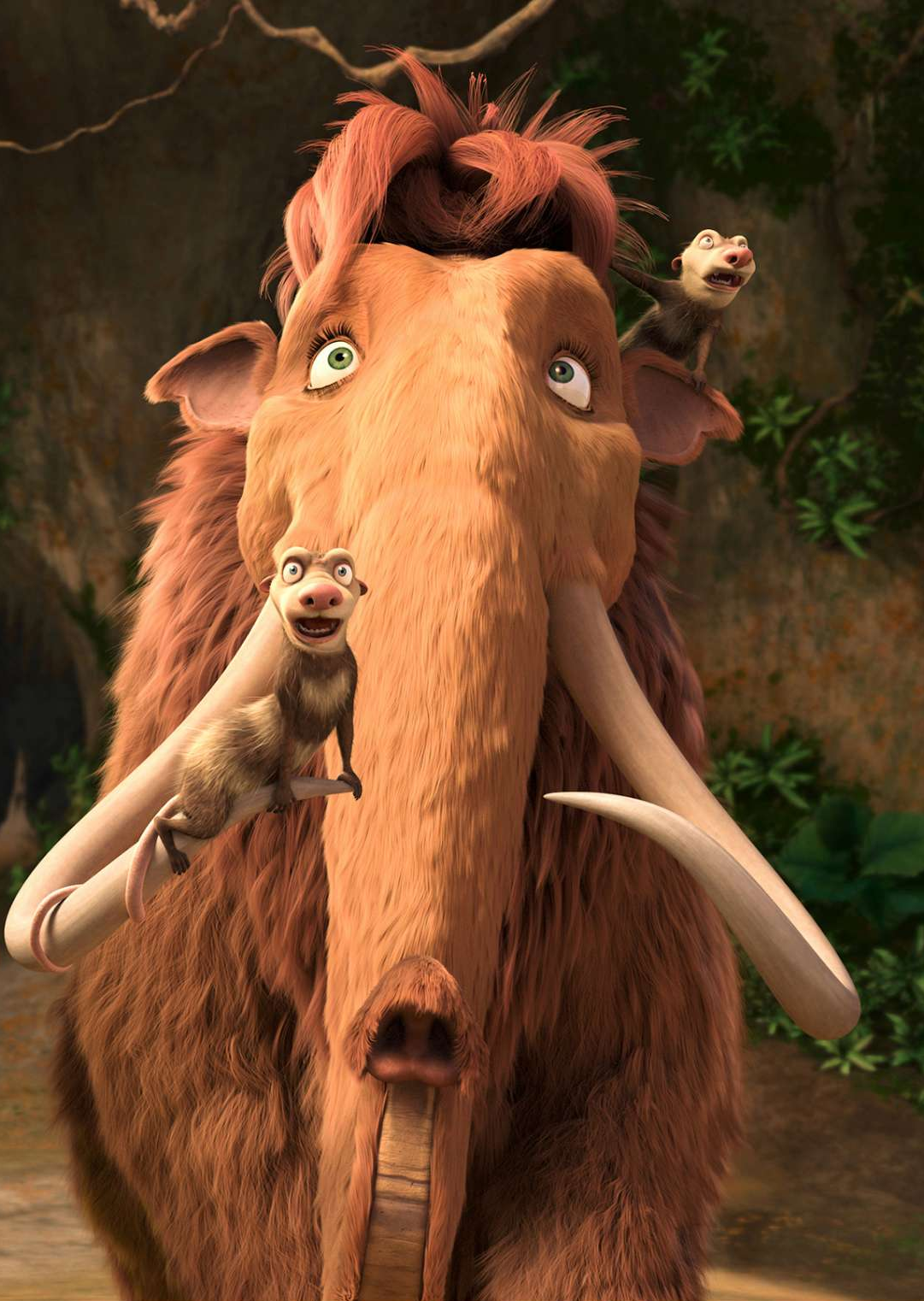 image ellie and brothers png ice age wiki fandom powered by wikia