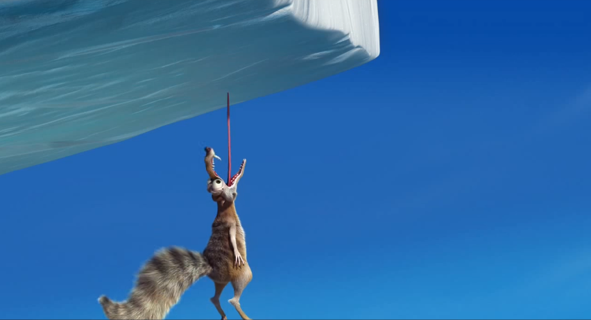 Image - Scrat tongue stuck to ice.PNG | Ice Age Wiki