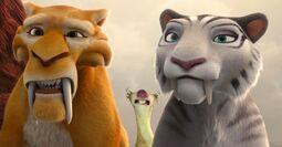 Sid, Diego and Shira amazed