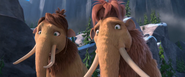 Ice Age Continental Drift Ellie and Peaches Shocked