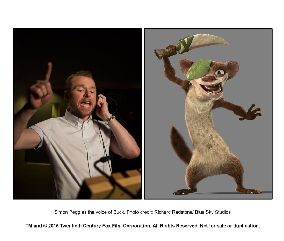Who voiced the Ice Age of 4 in Russia