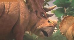 Chasmosaurus ice age