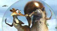 Scrat and Scratte in bubble