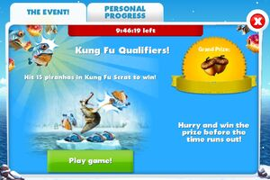 Kung fu qualifiers