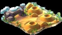 Clean burrows