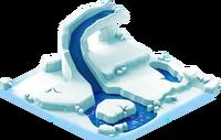 Habitat ice flow