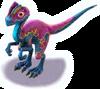 PinkDilophosaurus