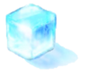 Larger ice block