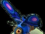 Giant Blue Moth