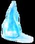 Larger ice shard