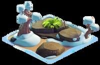 Habitat rocks