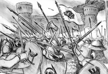 The battle of winterfell by sanders87-da6brst