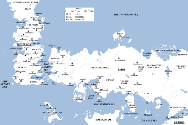 Known World A Song Of Ice And Fire Wiki Fandom Powered By Wikia