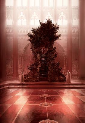 Iron Throne by Marc Simonetti