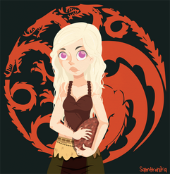 Daenerys by samtronika