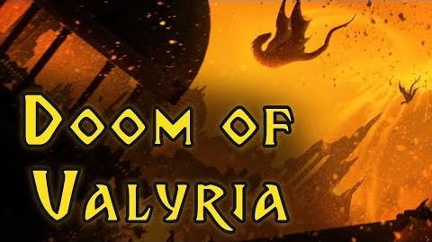 Doom of Valyria - Game Of Thrones, A Song of Ice and Fire - Lore and History